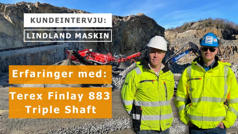 Kundeintervju med Jan Lindland i Lindland Maskin.